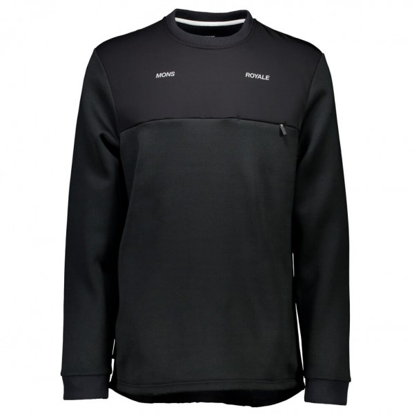 Mons Royale - Transition Pipe Jersey - Merino trui