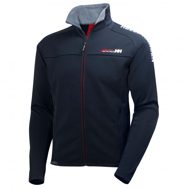 helly hansen hp fleece jacket fleecejacke herren versandkostenfrei. Black Bedroom Furniture Sets. Home Design Ideas