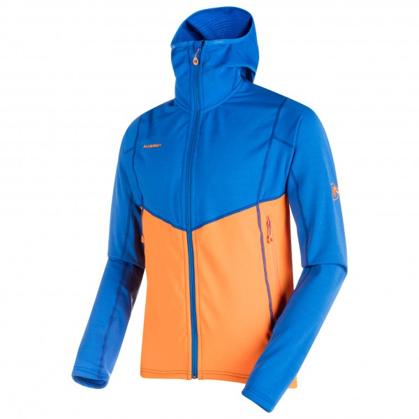 Mammut - Eiswand Advanced Midlayer Hooded Jacket - Fleecetakki