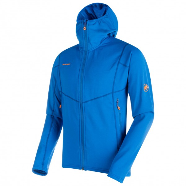 Mammut - Eiswand Advanced Midlayer Hooded Jacket - Giacca in pile
