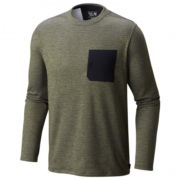 Mountain Hardwear - Mainframe Crew Long Sleeve Shirt - Fleec