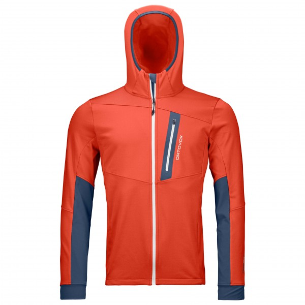 Ortovox - Fleece Light Tec Hoody - Fleecejacka