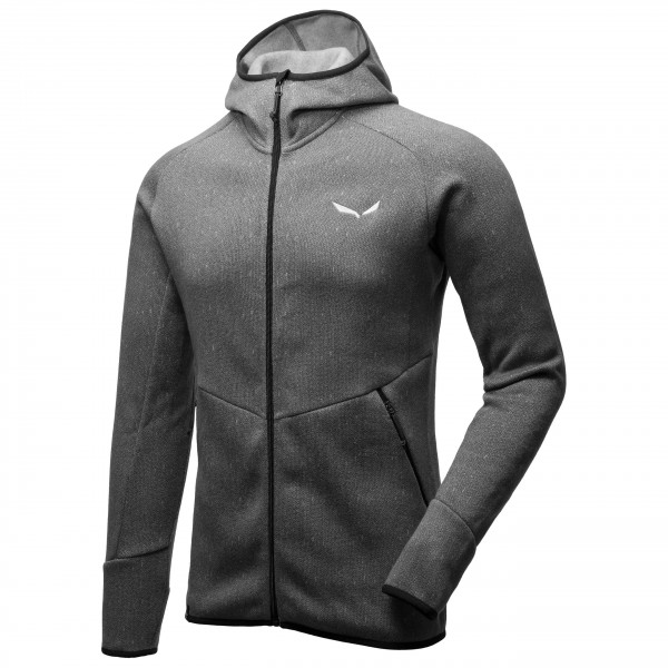 Salewa - Puez Herringbone Polarlite Full Zip - Giacca in pil