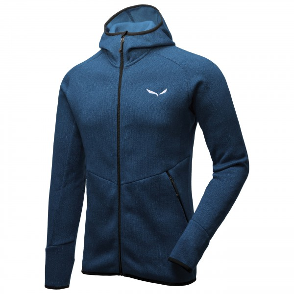 Salewa - Puez Herringbone Polarlite Full Zip - Forro polar