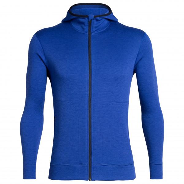 Icebreaker - Elemental L/S Zip Hood - Wool jacket