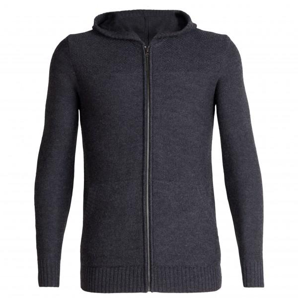 Icebreaker - Waypoint L/S Zip Hood Sweater - Uldjakke