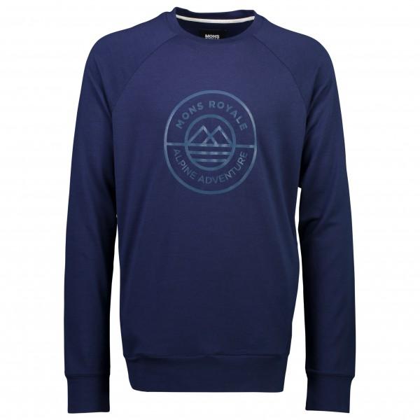 Mons Royale - Covert Mid-Hit Crew - Merino sweatere