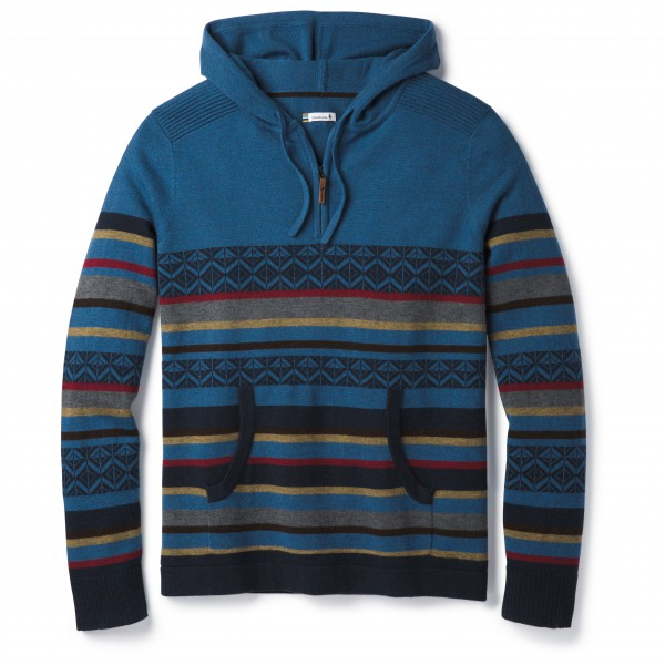 Smartwool - Hidden Trail Striped Hoody Sweater - Merino jumper