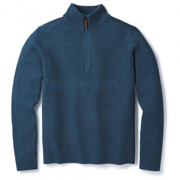 Smartwool - Ripple Ridge Half Zip Sweater - Överdragströjor merinoull
