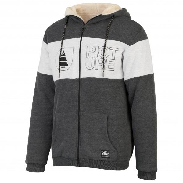 Picture - Basement Plush Hoody Zip Melange - Fleece jacket