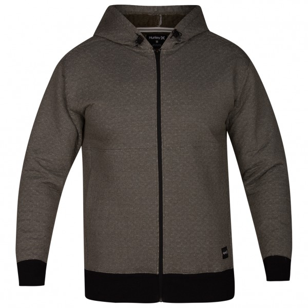 Hurley - Hollowknit Full Zip - Fleecejacke