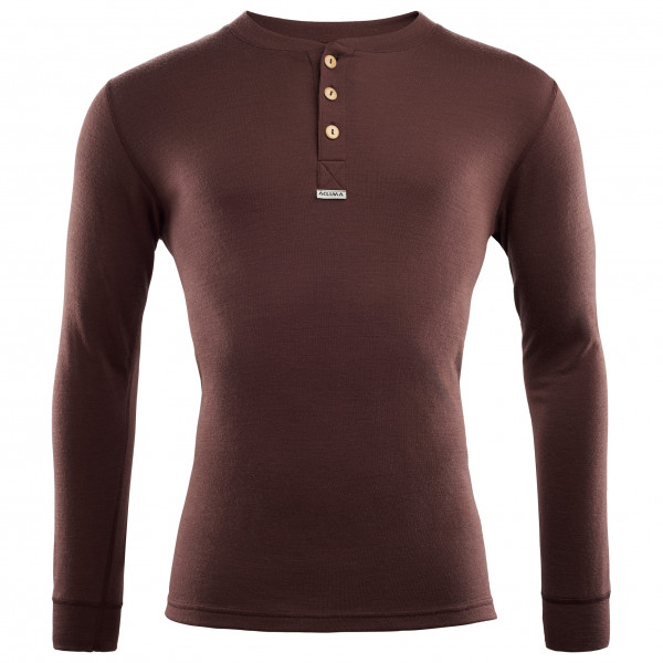 Aclima - Warmwool Granddad shirt - Merino sweatere