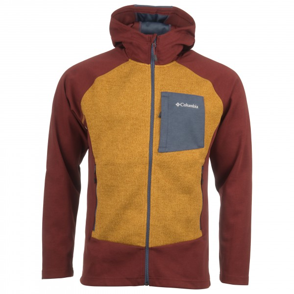 Columbia - Marley Crossing Hooded Hybrid Jacket - Fleecejacka