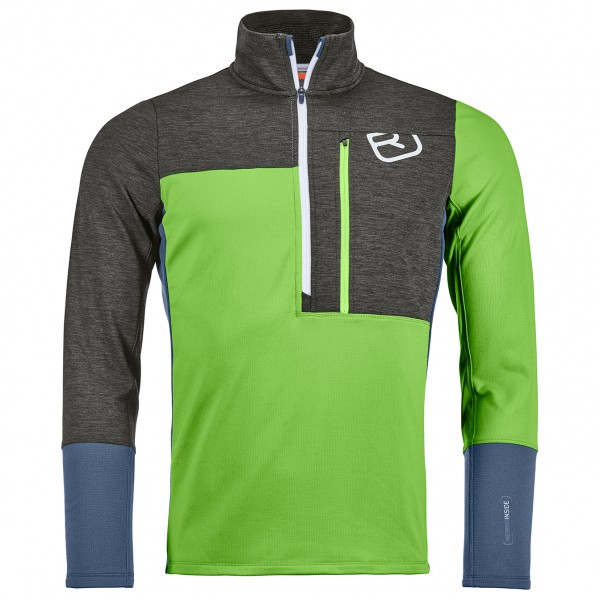 Ortovox - Fleece Light Zip Neck - Merino sweatere