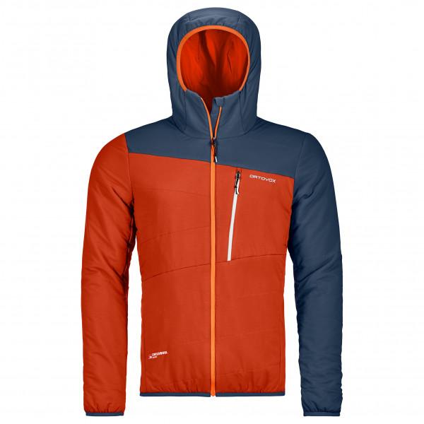 Ortovox Swisswool Zebru Jacket Wolljacke Desert Orange | S
