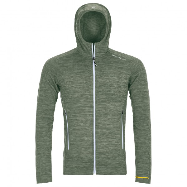 Ortovox - Fleece Light Melange Hoody - Ulljakke