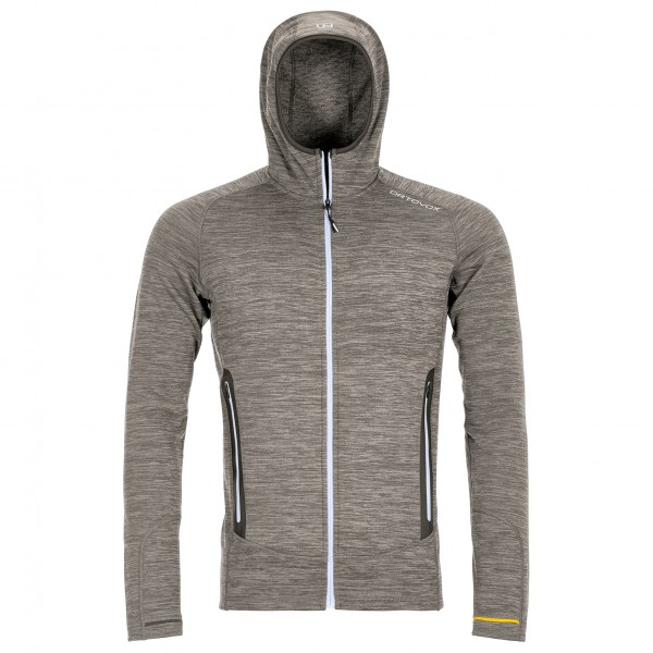 Ortovox - Fleece Light Melange Hoody - Uldjakke