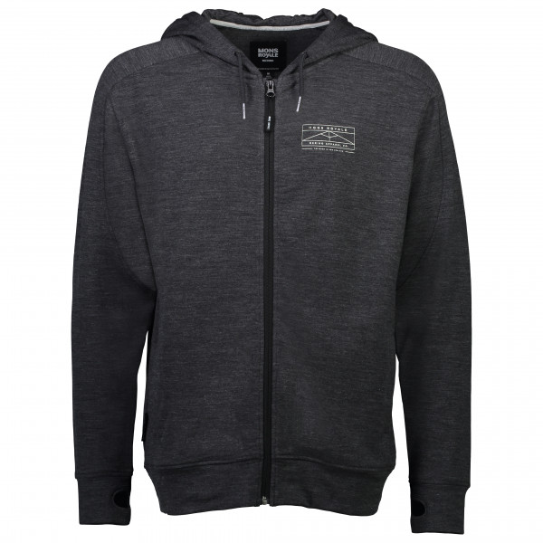 Mons Royale - Covert Lite Zip Hoody - Wool jacket