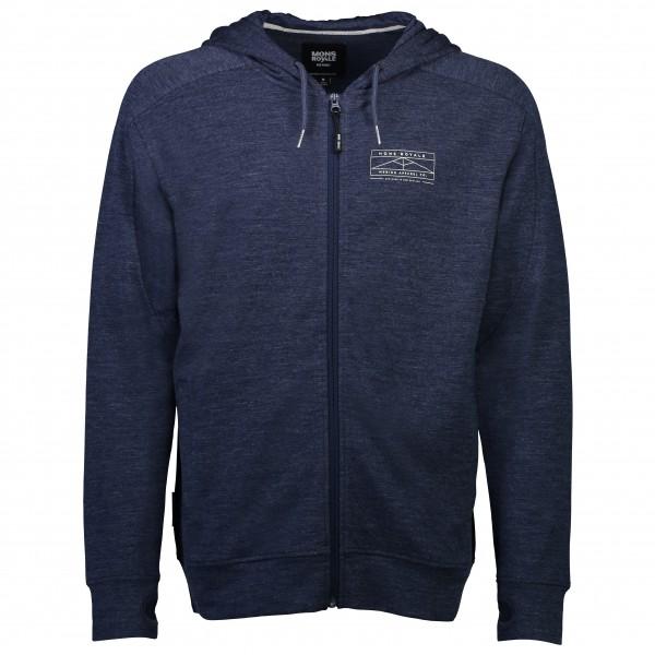 Mons Royale - Covert Lite Zip Hoody - Wool jacket