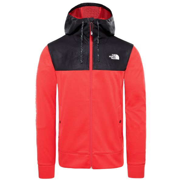 The North Face - Train N Logo Overlay Jacket - Fleecevest
