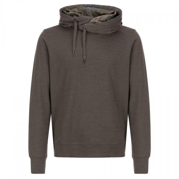 SuperNatural - Comfort Hoodie - Pullover in lana merino