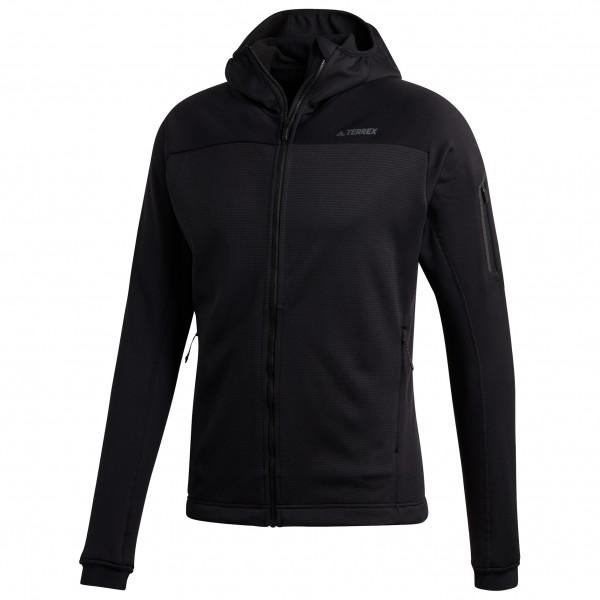 adidas - Stockhorn Hooded Fleece Jacket - Fleecejacka