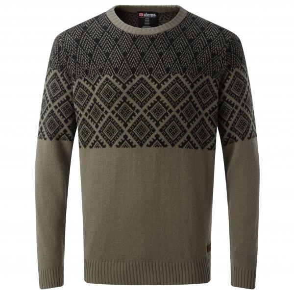 Sherpa - Amdo Crew Sweater - Merinovillapulloverit