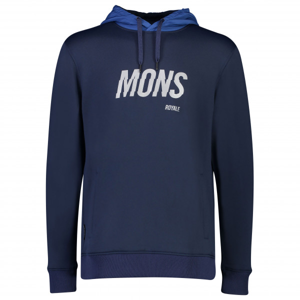 Mons Royale - Decade Logo Hoody - Merino jumper