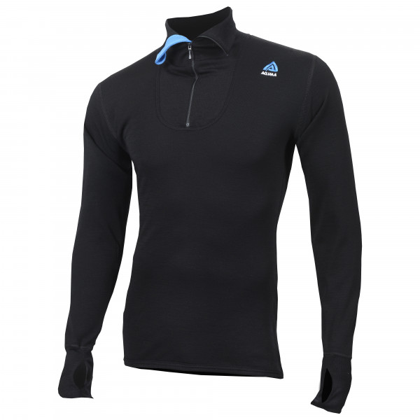 Aclima - Doublewool Polo Shirt Zip - Merino trui