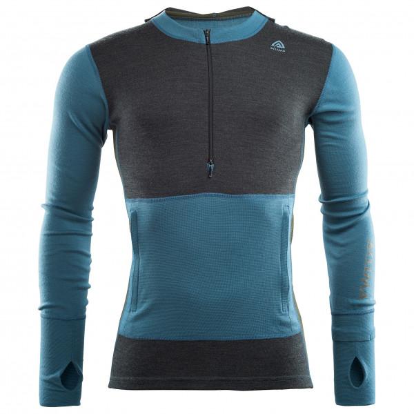 Aclima - Warmwool Hood Sweater Net - Överdragströjor merinoull
