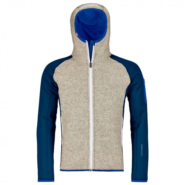 Fleece Plus Classic Knit Hoody - Fleece jacket