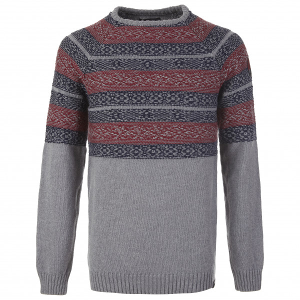 Pally'Hi - Knit Sweater Inversed Nordic - Merino jumper