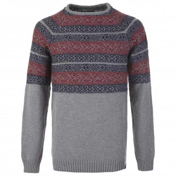 Pally'Hi - Knit Sweater Inversed Nordic - Merinopullover
