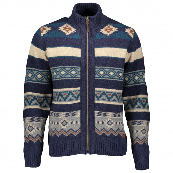Powderhorn - Sweater Full Zip Western - Merino sweatere