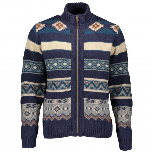 Powderhorn - Sweater Full Zip Western - Överdragströjor merinoull