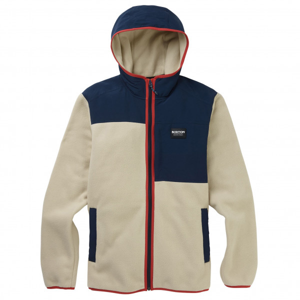 Burton - Hearth Fleece Hooded Full-Zip - Fleecetakki