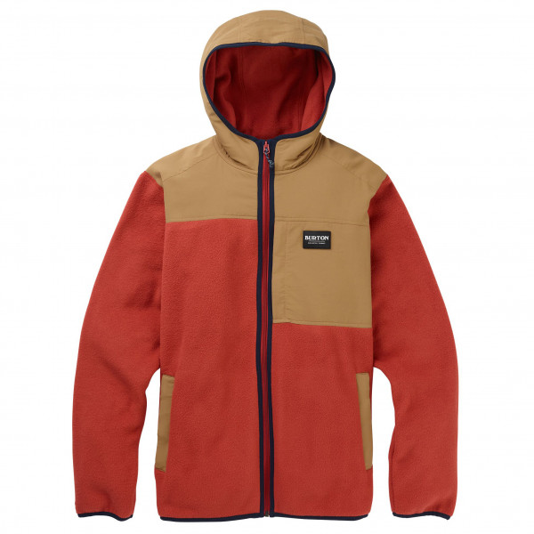 Burton - Hearth Fleece Hooded Full-Zip - Fleecevest