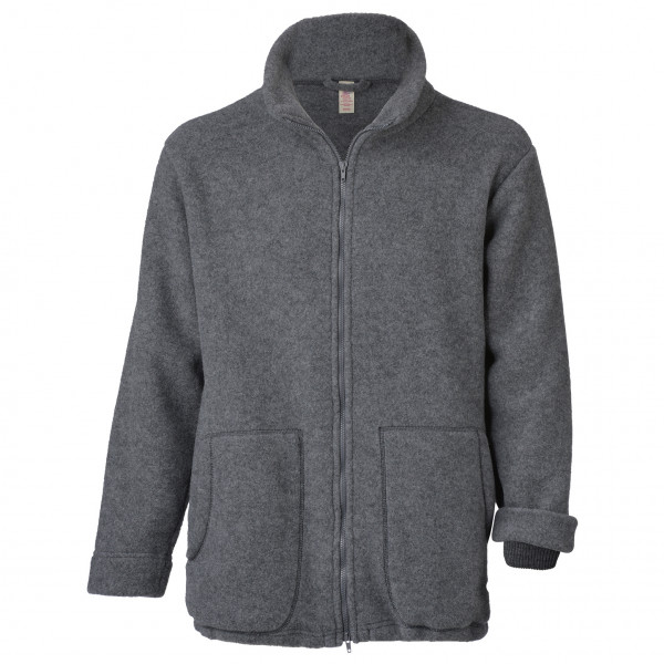 Jacke 2-Wege Reisverschluss mit Kordeldurchzug - Wool jacket