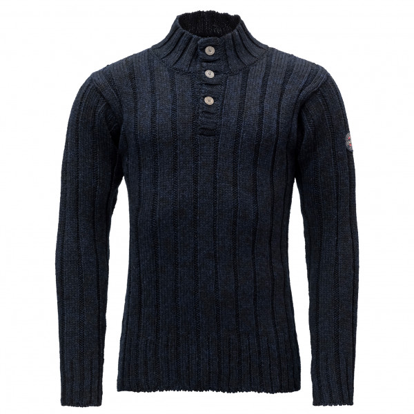 Devold - Amundsen Button Neck - Wool jumper