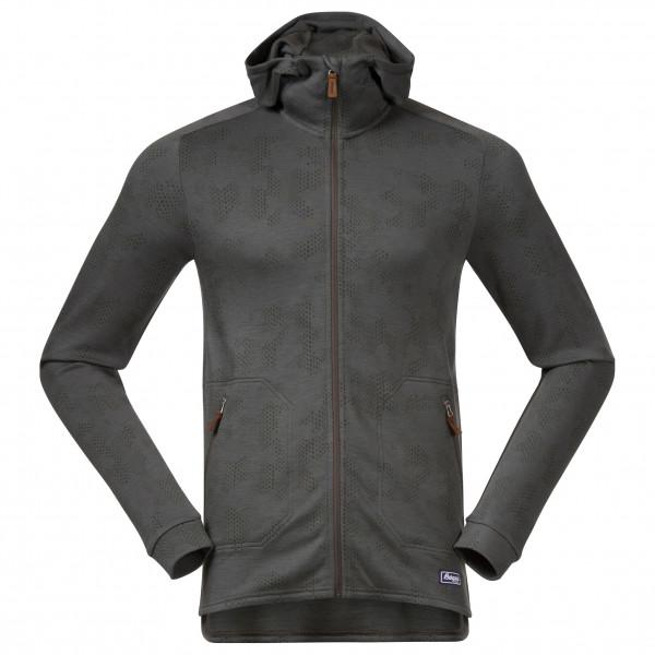 Bergans - Tuva LT Wool Hood Jacket - Sudadera de lana merina