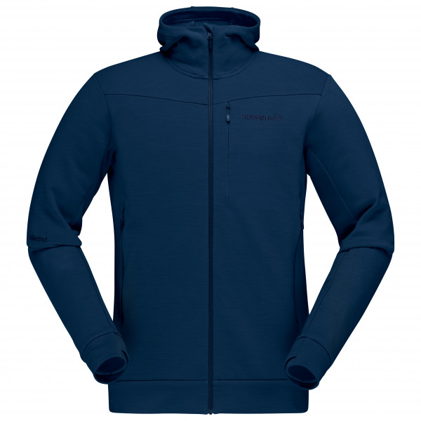 Norrøna - Falketind Warmwool2 Stretch Zip - Fleece jacket