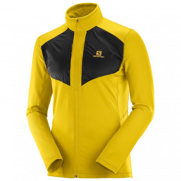 Salomon - Grid FullZip Mid - Fleece jacket