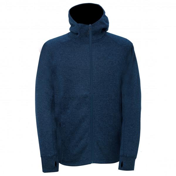 2117 of Sweden - Flatfleece Jacket With Hood Mossen - Fleecetakki