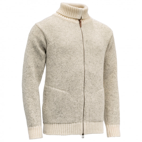 Devold - Nansen Zip Cardigan High Neck - Uldsweater