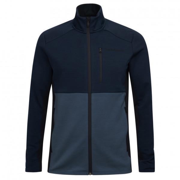 Peak Performance - Vertical Mid Zip Jacket - Merinojacke