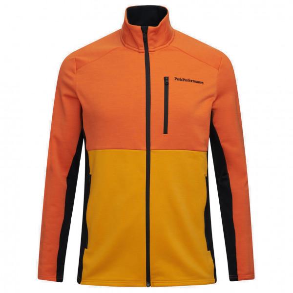 Peak Performance - Vertical Mid Zip Jacket - Veste en laine mérinos