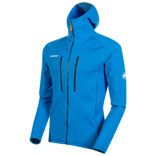 Mammut - Eiswand Advanced Midlayer Hooded Jacket - Fleecetakki