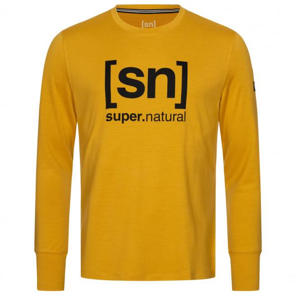 SuperNatural - Alpine L/S - Camiseta de manga larga de merino
