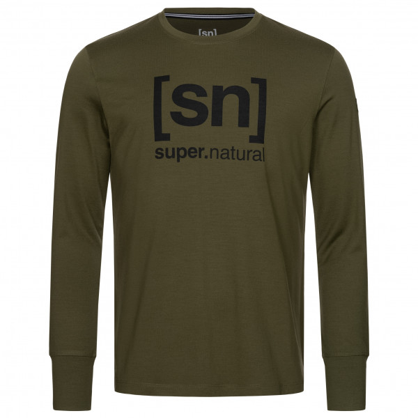 super.natural - Alpine L/S - Merino longsleeve