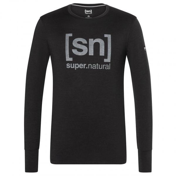 super.natural - Alpine L/S - Långärmad tröja i merinoull